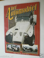 HA-23 DONKERVOORT SUPER SEVEN SPORTSCAR ARTICLE AND POSTER 7 PAGES,