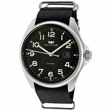 Glycine Men's 3890.19AT.TB9 Combat 6 Automatic Black Dial Black Strap
