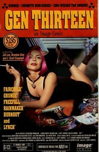 GEN13 Vol 1 - Set of 13 Variant Covers 1994