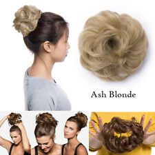 Clip On Bun 40/45g UPDO Chignon Messy Curly Wavy BUN Hair Extensions Hairdo KH2