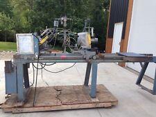 CTD Double metal Miter Cut Off Saw CDM200 REPOSSESSION UNIT WORKS!