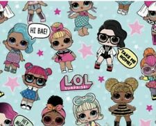 Lol Surprise Dolls Gift Wrap Wrapping Paper Roll L.O.L. Lol lol Brand New Vhtf