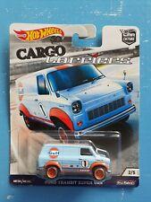 Mattel Hot wheels Ford Transit Gulf Box
