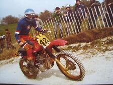 Photo CZ 500 #42 Radomil Macourek (CZE) GP 500cc Motocross Frankrijk 1980 3x