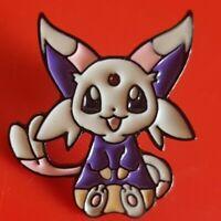 Espeon Eevee Pin Pokemon Cute Enamel Retro Metal Brooch Badge Lapel