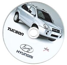 Hyundai Tucson (2004-2009) manuale officina workshop manual