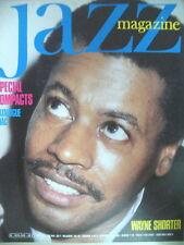 JAZZ MAGAZINE 345 WAYNE SHORTER MULGREW MILLER PATRICK SELMER DEXTER GORDON 1985