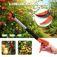 """Aluminum Long Reach Pruner Cutter Garden Pruning Shear Tool 0.6m/0.8m/1m 1/2"""" !"""