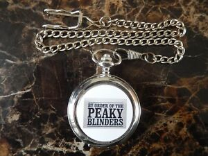 PEAKY BLINDERS POCKET WATCH WITH CHAIN (NEW)  (5)