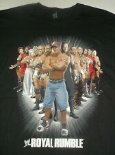 WWE Black 3XL T-Shirt Royal Rumble JAN 31, 2010 Atlanta, GA Randy Orton, Sheamus