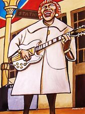 SISTER ROSETTA THARPE PRINT poster gospel blues original soul sister gibson sg