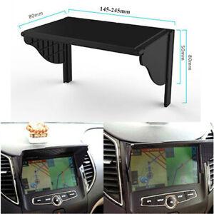 Universal Car Interior Dash Radio Sun Shade GPS Navigation Hood Cap cover Parts