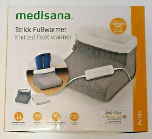 MEDISANA FW 150 Strick elektrische Fußwärmer Fußheizung Fußsack Wärmesack 100 W