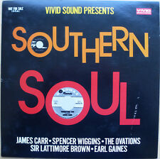 "VARIOUS – VIVID SOUND PRESENTS SOUTHERN SOUL – JAPAN 10"" VINYL LP (1978) SAMPLER"