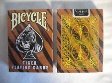 CARTE DA GIOCO BICYCLE TIGER,poker size