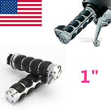 "1"" Motorcycle Handle Bar Hand Grips For Yamaha V-Star XVS 950 1100 1300 Classic"