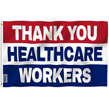 Anley Fly Breeze 3x5 Foot Thank You Healthcare Workers Flag Medical Heroes Flags