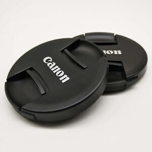 Cannon Center Pinch Snap On Front Lens Cap Cover 82mm for Canon Nikon Sony Fuji