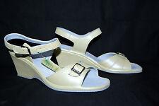 Rohde sandale 5,5 38,5 39 Largeur F jaune clair wedge talon compense sandale ms-109