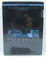 Unbreakable Dvd 2-Disc Set Bruce Willis Samuel L Jackson Brand New Sealed
