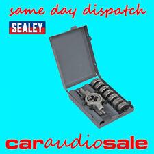 Sealey AK3009 9 Piece Split Die Set M3 - M12 Metric