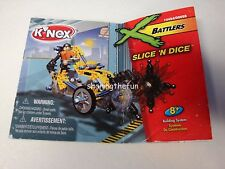 KNEX INSTRUCTION MANUAL ONLY #10424 Battlers Slice 'N Dice Instructions Book