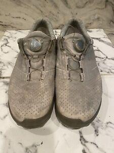 Ecco BOA Hybrid 3 Men's Spikeless Golf Shoes, EU 44, US 10-10.5, Gray