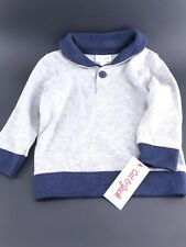 Toddler Boy Long Sleeve Button CollarShirt Size 2T Cat And Jack New With Tags