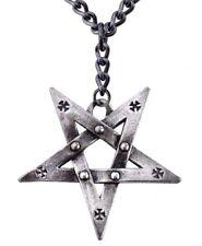 Pentagration Large Pentagram Iron Cross Talisman Pendant Alchemy Gothic P623