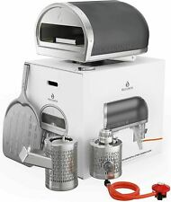 Gozney Roccbox Portable Outdoor Pizza Oven - Gas Or Wood Fired, Dual-Fuel Grey