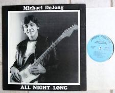 Michael DeJong – All Night Long    Vinyl  LP  Sabine Records  – MDJ2500