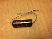 .047 MFd UF 400 V  POLYESTER MYLAR FILM CAPS CAPACITORS CONDENSERS Long Leads US
