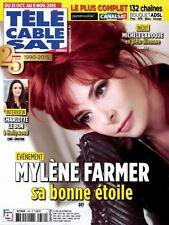 MYLENE FARMER * CHARLOTTE LE BON * TELE CABLE SAT - Collector - Octobre 2015
