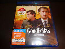 Goodfellas 25th Anniv Edition Blu-Ray w/Digital Hd code to 10-13-18-Rob De Niro