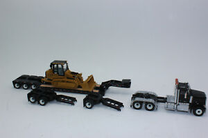 Diecast Masters 85599 HX520 Tractor + Low Loader + Cat 963K 1:50 New IN Boxed