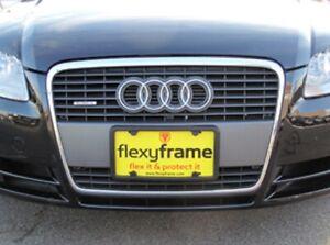 Rubber License Plate Holder Mounting Adapter Bumper Tag Bracket Frame for AUDI