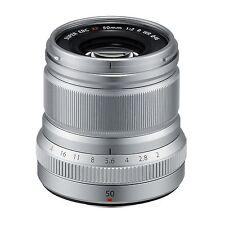Fuji Fujinon XF 50mm F/2 R WR Lens (Silver) *NEW* *IN STOCK*