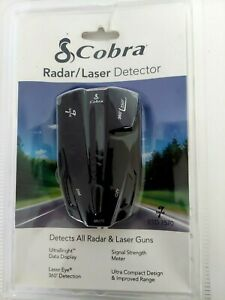Cobra 9 Band Performance Radar Laser Detector K/ka Vg2 360 Degree ESD 7570