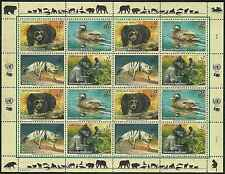 Timbres Animaux Nations Unies Vienne F 342/5 ** année 2001 lot 4203