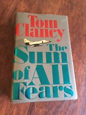 The Sum of All Fears by Tom Clancy (1991, Hardcover)