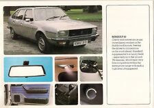 Renault 20 & 30 1981 UK Market Sales Brochure TL LS TS TX