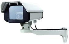 Faux CCTV Caméra de sécurité - Excellente Qualité Métal Construction - Lumière