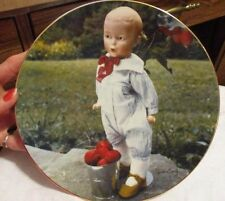 "THE DOLL COLLECTION  2nd Ltd Ed. of Old German Dolls Plates ""THE WHISTLER"" 1981"