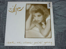 """Silje:  Tell me where you're going   7""""  MINT UNPLAYED"""