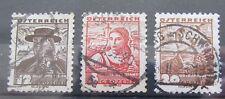 Briefmarken Österreich 1918 - 1944 Lot Trachten der Länder