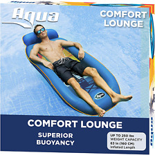 Premium Comfort Water Lounger, Inflatable Pool Float, Heavy Duty