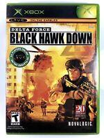 FREE SHIPPING! Delta Force: Black Hawk Down (Microsoft Xbox, 2005) Complete CIB