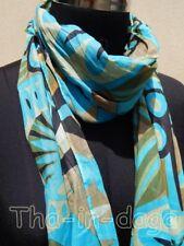 Foulard Pareo 100% Coton Imprime 50x170cm 50g Hippie Chic Long Etroit Inde  9x1 771649f9211