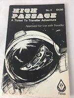 High Passage #3 A Ticket To Traveller Adventure FASA Interdiction Satellite 1982