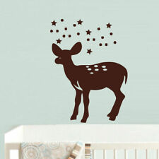 Wall Vinyl Sticker Bedroom Deer Elk Baby Kids Nursery (Z695)